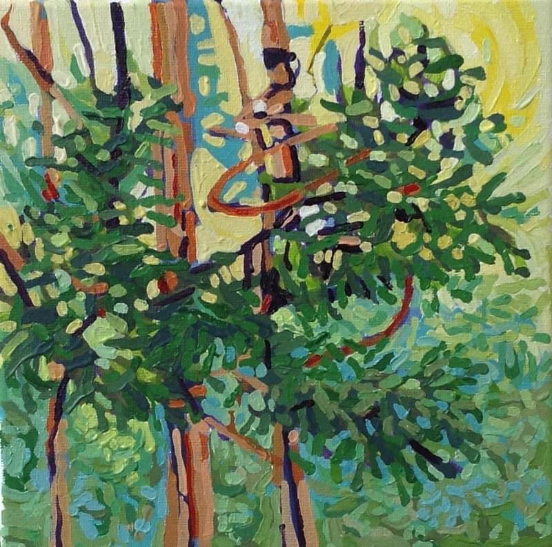 Bosque abstracto Image
