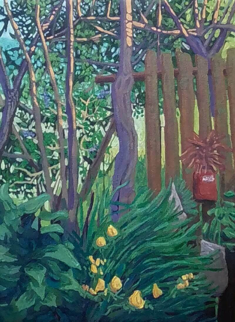 Jardín de mi estudio Image