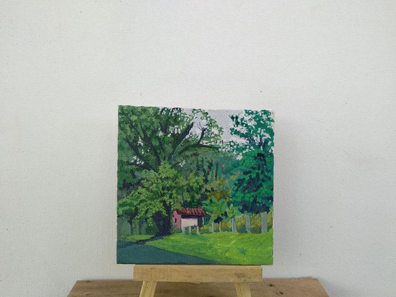 Casa rural entre los árboles Image
