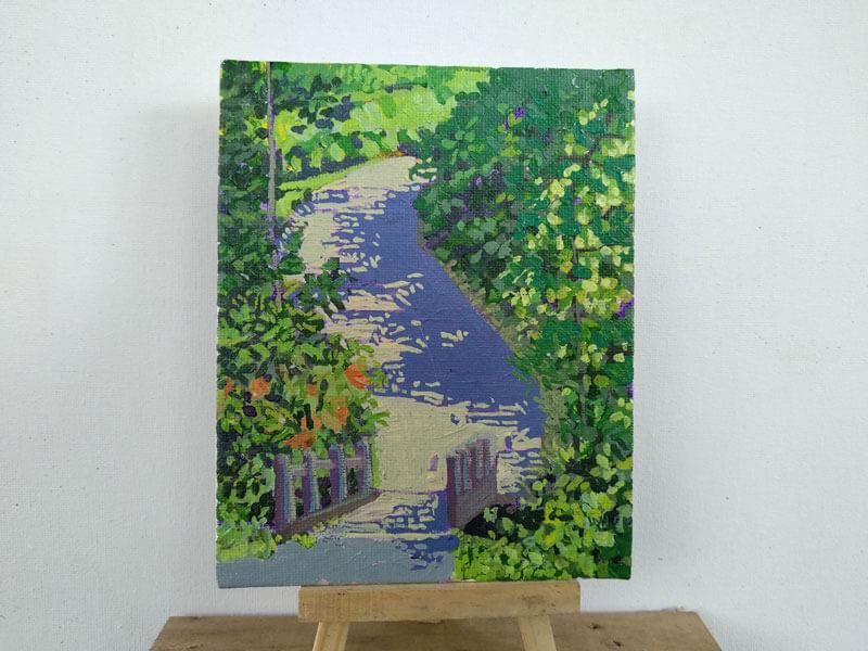 Puente sobre el río fortuna Image