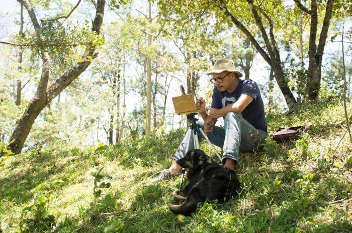 Juan Carlos Ruiz -Plein air